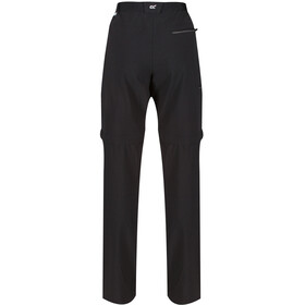 Regatta Xert III Stretch Pantalones Zip-Off Hombre, black